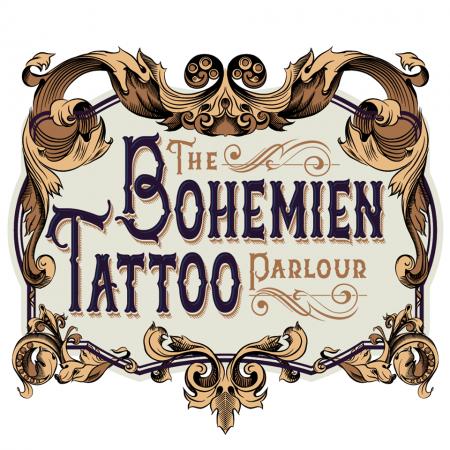 logo BOHEMIEN TATTOO PARLOUR